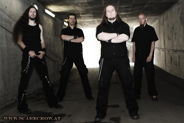 (f.l.t.r.: Gsputi - guit., Alex D. - guit., Bernd K. - voc., Stefan K. - drums)